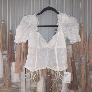 ***ON HOLD*** For Love and Lemons Bleau Top
